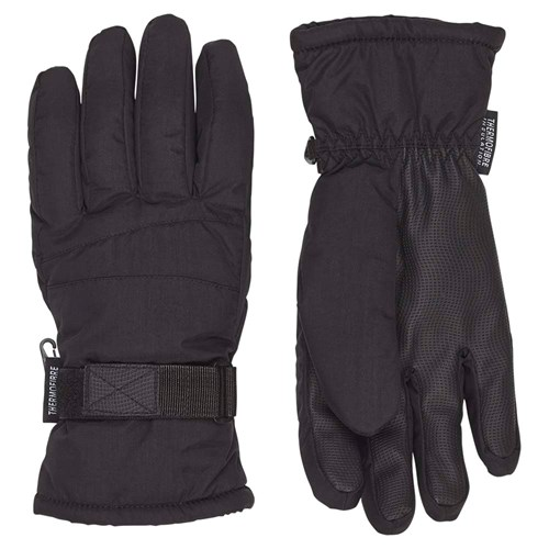 Etirel Base Ski Glove Black Til Børn