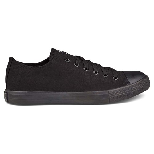 Firefly Canvas Low III Børn Black Black