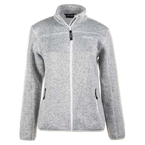 Vertical Killarney Fleece Til Dame Pearl Grey