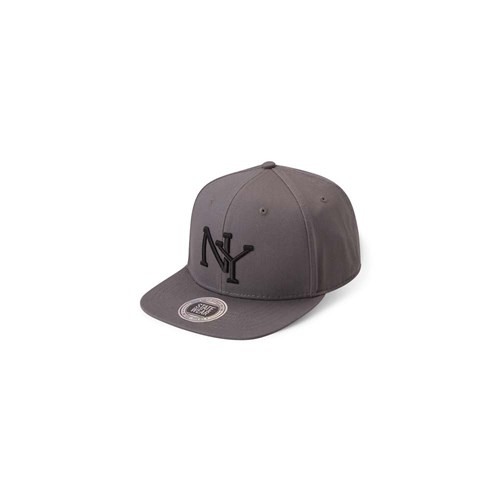 StateWear New York Snapback Dark Grey