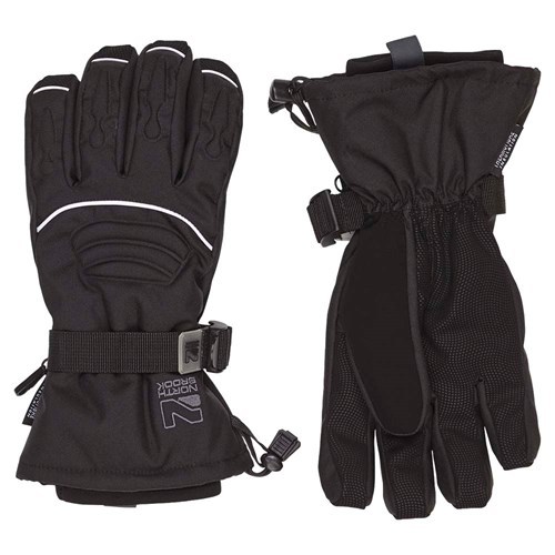 North Brook Challenge II Glove Black Til Voksen