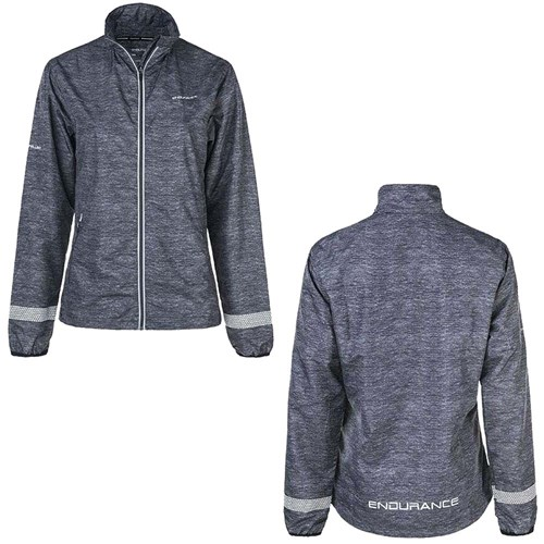 Endurance - Algarve Melange Run Jacket Til Dame