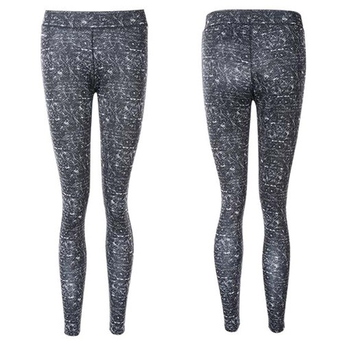 Endurance Delicia Printed Long Tight Til Dame