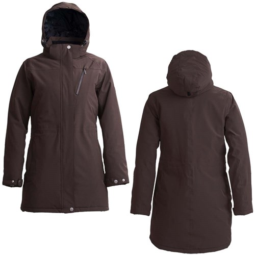 Tuxer Styrke Lady Jacket Brown