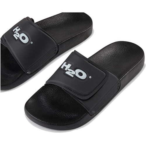 H2O Aqua Adjustable Sandal Black